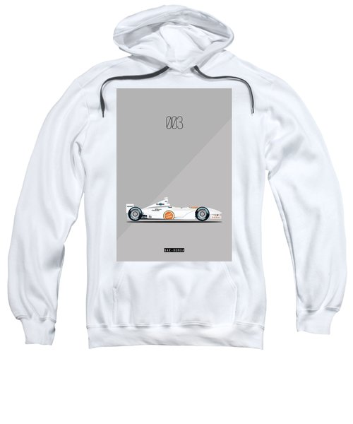 Bar Honda 003 F1 Poster Sweatshirt
