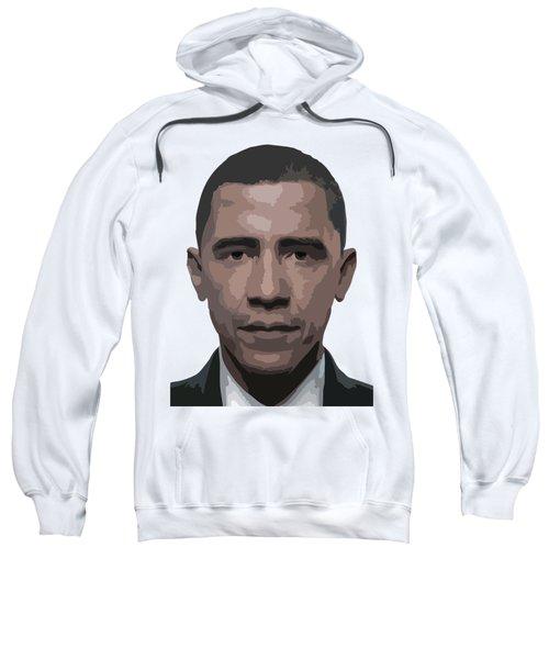 Barack Obama Sweatshirt by Tshepo Ralehoko