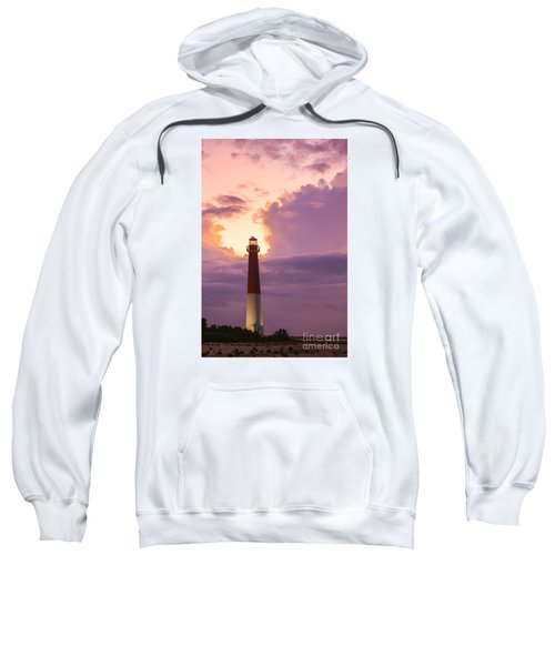 Barnegat Lighthouse Nj Travel Guide 2016 Crop Sweatshirt