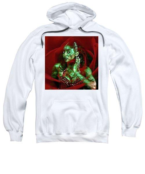 Baroque Meets Oriental Rose Sweatshirt