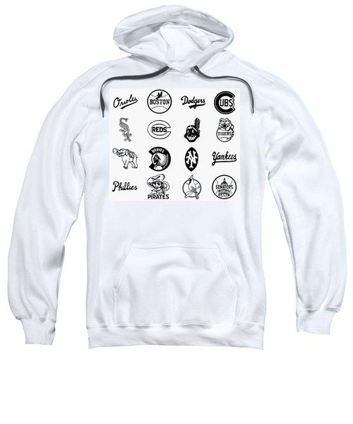 Baseball Logos Sweatshirt