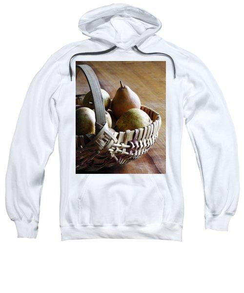 Basket And Pears Sweatshirt