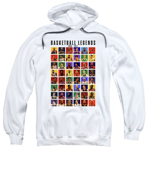 Basketball Legends Sweatshirt by Semih Yurdabak