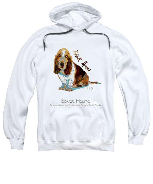 Basset Hound Pop Art Sweatshirt