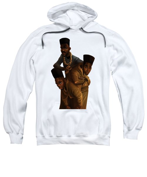 Bdk White Bg Sweatshirt