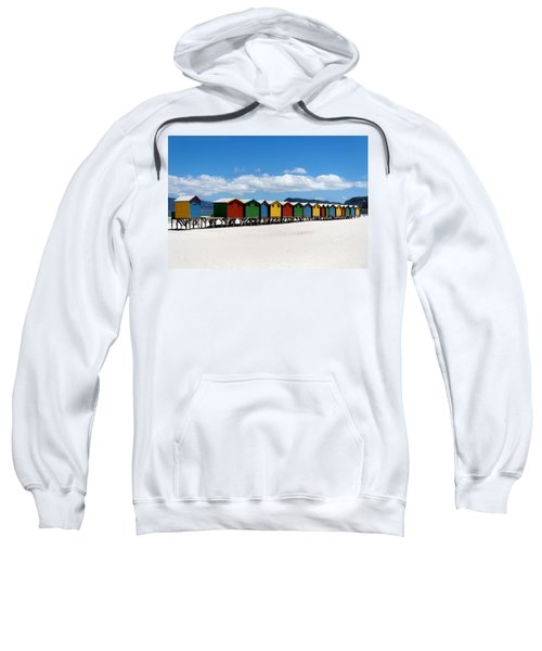 Beach Cabins  Sweatshirt