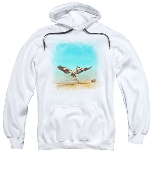 Beach Dancing Sweatshirt by Jai Johnson
