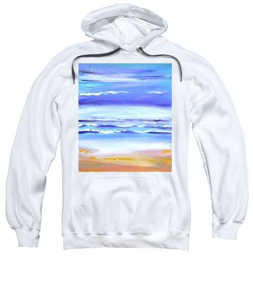 Beach Dawn Sweatshirt by Winsome Gunning