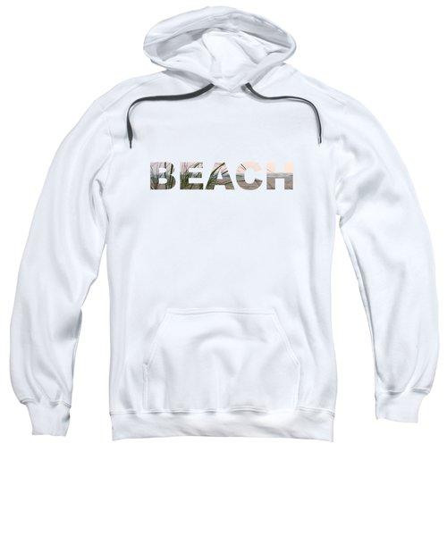 Beach Sweatshirt by Laura Kinker