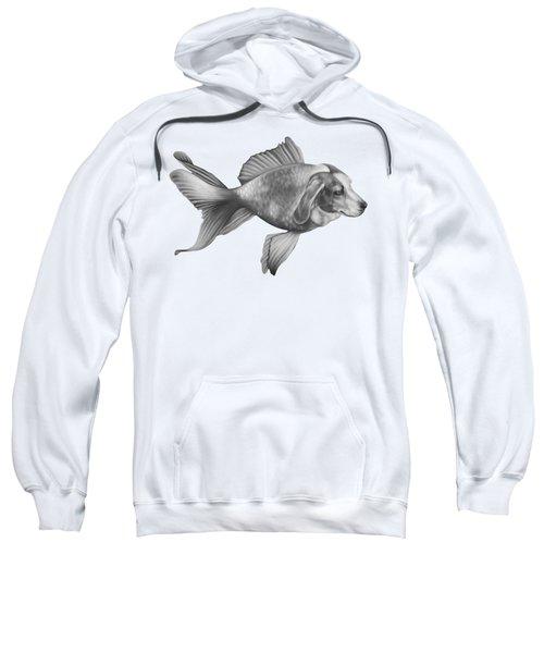 Beaglefish Sweatshirt by Courtney Kenny Porto