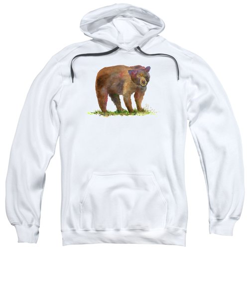 Bear Sweatshirt by Amy Kirkpatrick