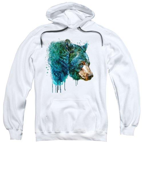 Bear Head Sweatshirt by Marian Voicu