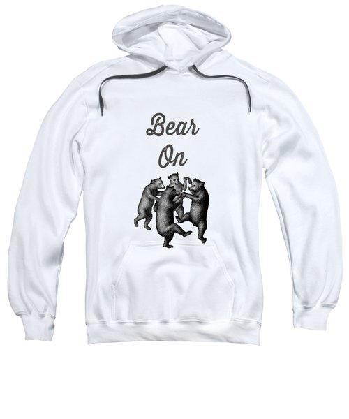 Bear On Sweatshirt