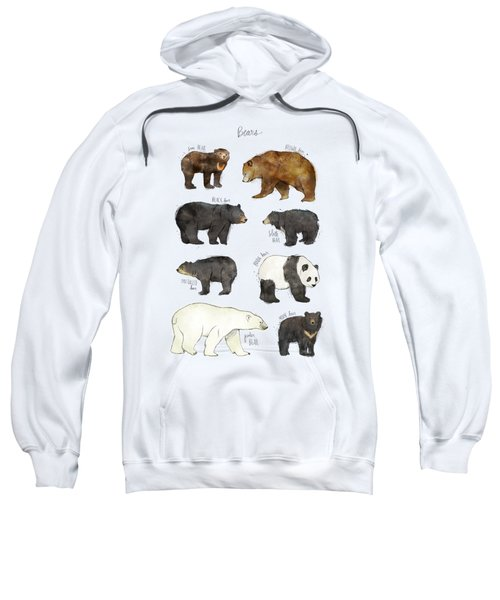 Bears Sweatshirt by Amy Hamilton
