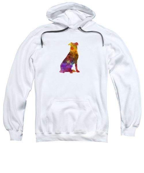 Beauceron In Watercolor Sweatshirt by Pablo Romero