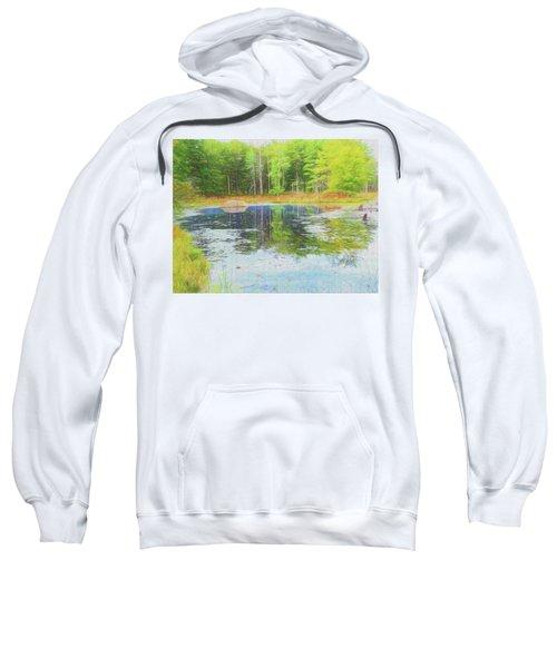 Beaver Pond Reflections Sweatshirt