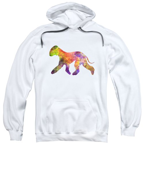 Bedlington Terrier 01 In Watercolor Sweatshirt