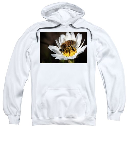 Bee On The Flower Sweatshirt