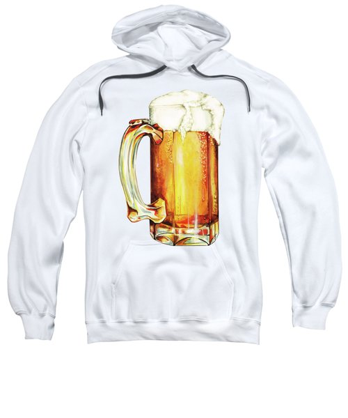 Beer Pattern Sweatshirt