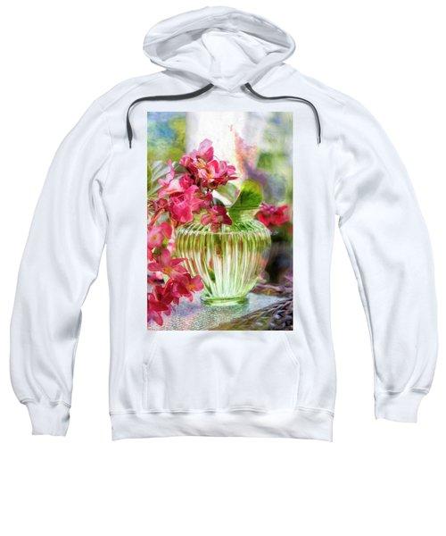 Begonia Art Sweatshirt