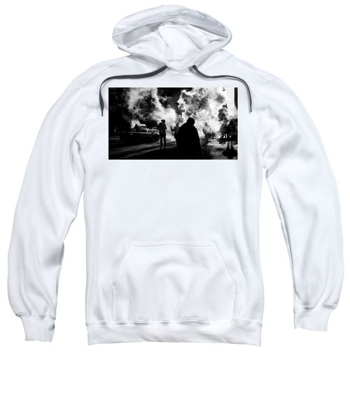 Behind The Smoke Sweatshirt