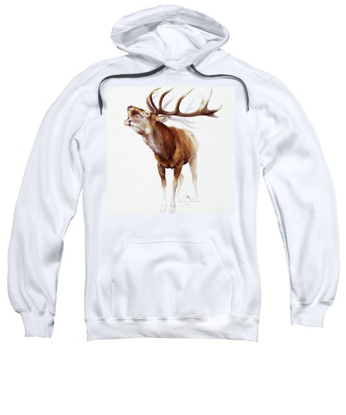 Belling Stag Watercolor Sweatshirt