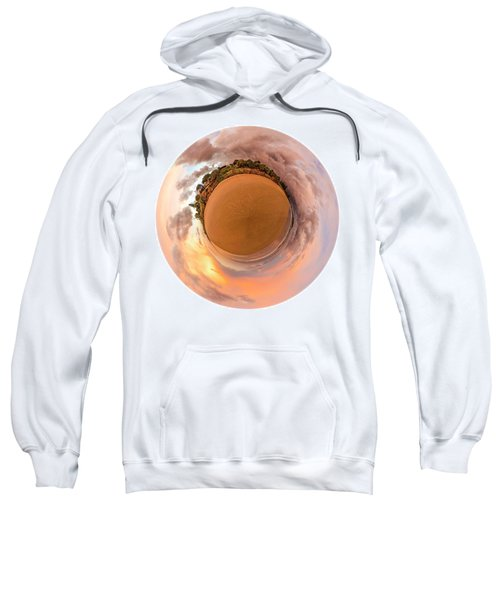 Sweatshirt featuring the photograph Belongil Sunset In Byron Bay by Chris Cousins
