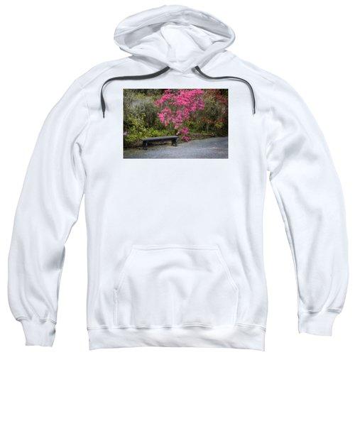 Bench In Azalea Garden Sweatshirt