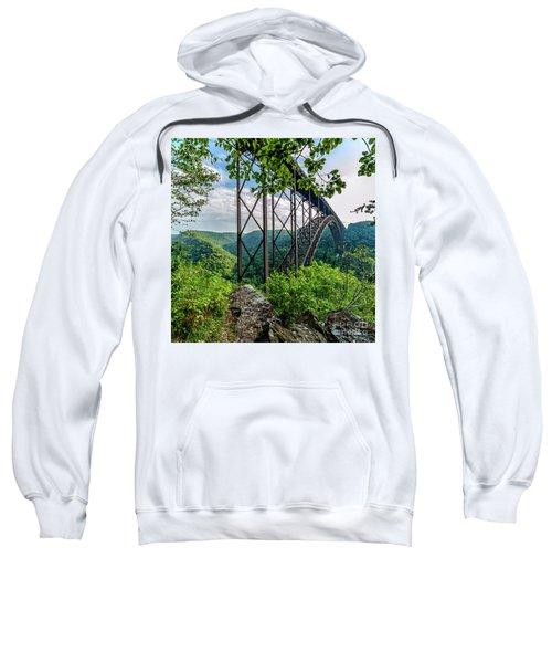 Beneath New River Gorge Bridge Sweatshirt