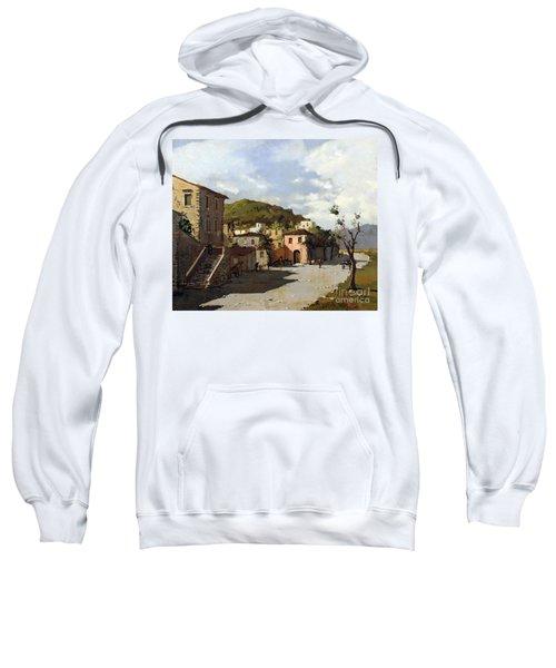 Provincia Di Benevento-italy Small Town The Road Home Sweatshirt
