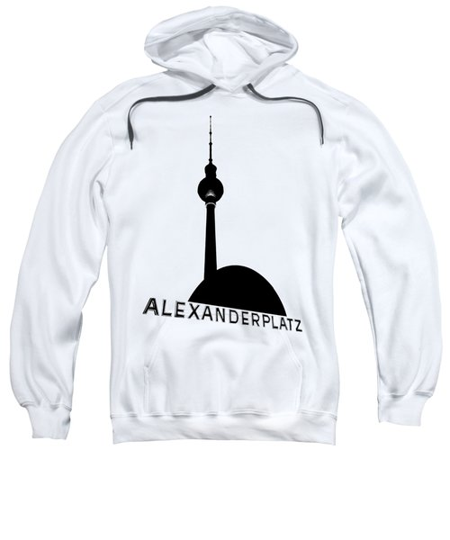 Berlin Alexanderplatz Sweatshirt by Julie Woodhouse