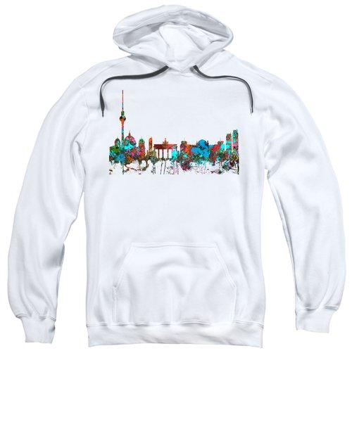 Berlin Germany Skyline  Sweatshirt