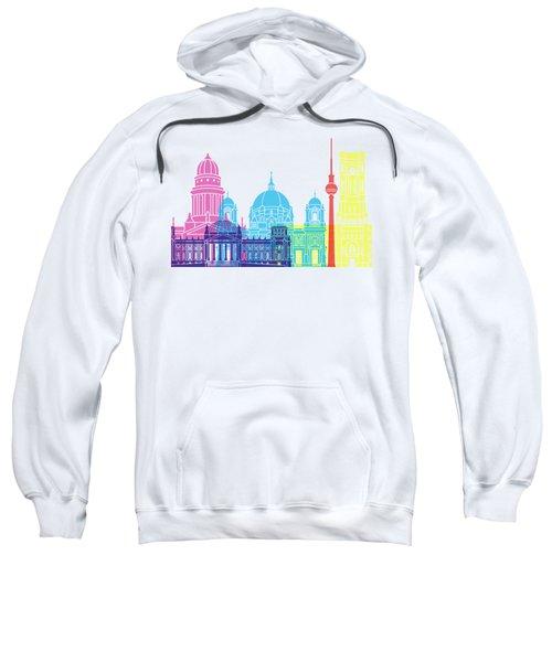 Berlin V2 Skyline Pop Sweatshirt by Pablo Romero