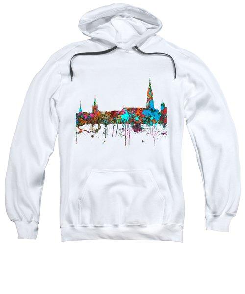 Berne Switzerland Skyline Sweatshirt by Marlene Watson