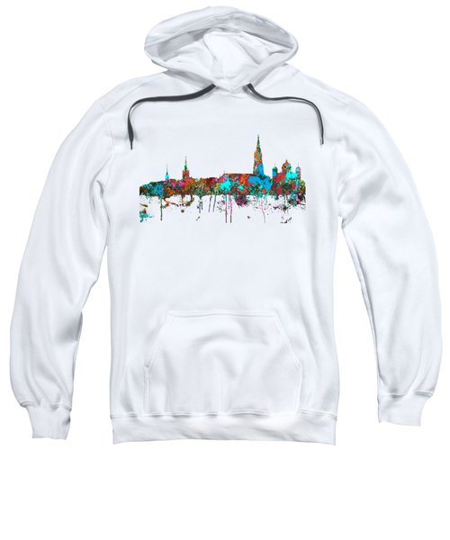 Berne Switzerland Skyline Sweatshirt