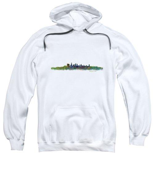 Beverly Hills City In La City Skyline Hq V2 Sweatshirt