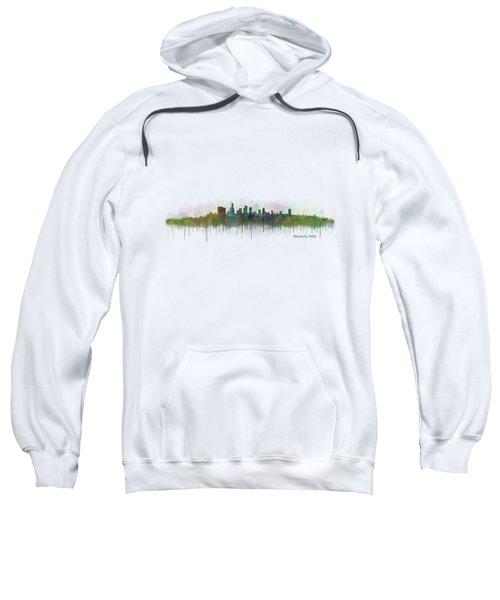 Beverly Hills City In La City Skyline Hq V3 Sweatshirt