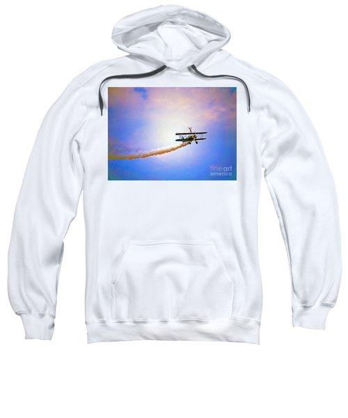 Bi-plane And Wing Walker Sweatshirt