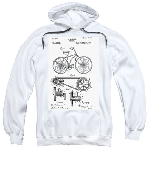 Bicycle Patent 1890 Sweatshirt