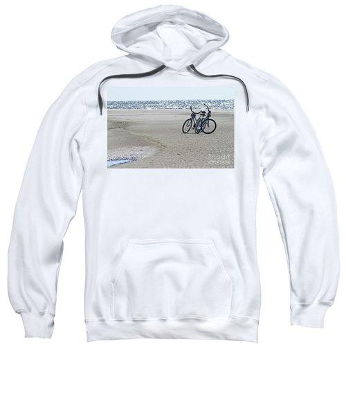 Bicycles On The Beach Sweatshirt