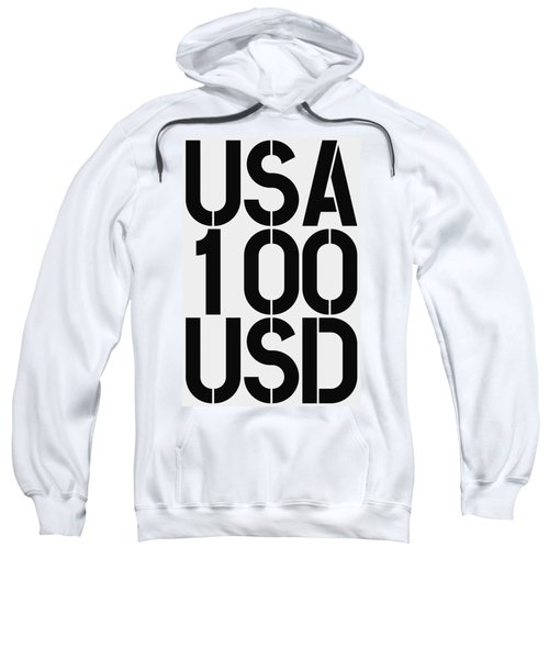 Big Money 100 Usd Sweatshirt