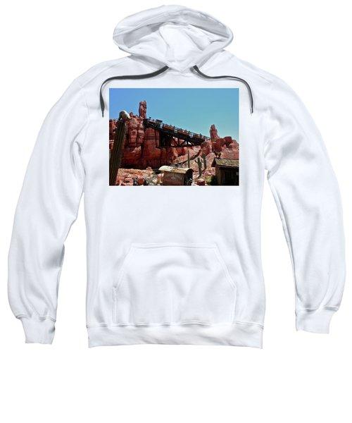 Big Thunder Mountain Walt Disney World Mp Sweatshirt by Thomas Woolworth