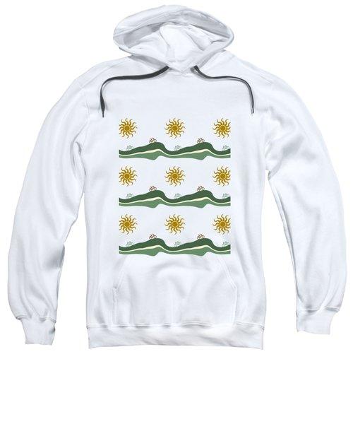 Bike Pattern Sweatshirt