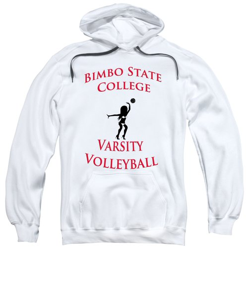 Bimbo State College - Varsity Volleyball Sweatshirt