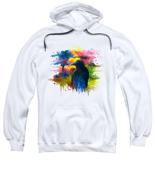 Bird 71 Crow Raven Sweatshirt