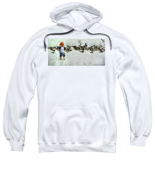 Bird Play Sweatshirt