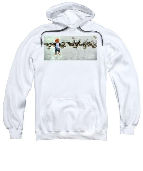 Bird Play Sweatshirt