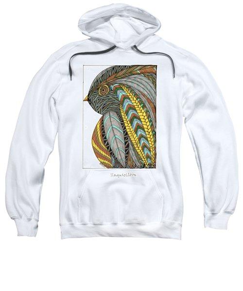 Bird_inquisitive_s007 Sweatshirt