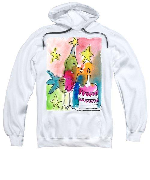 Birthday Bird Sweatshirt