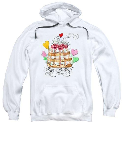 Birthday Cake Sweatshirt
